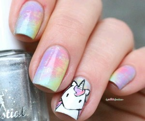 unicorn and nails image
