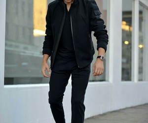 men, outfit, and boy image