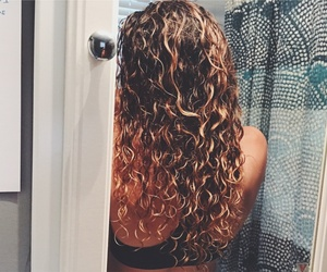 color, curls, and curly image