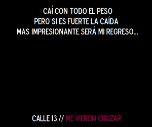 frases, calle 13, and textos image
