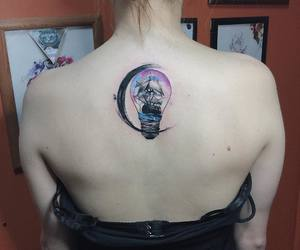 back, ink, and inked image