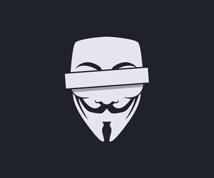 wallpaper, anonymous, and black image