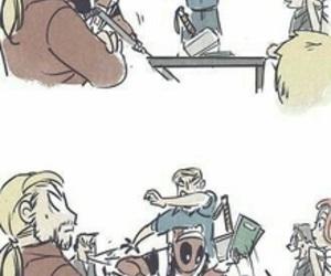 Avengers, deadpool, and Marvel image