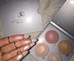 makeup, highlighter, and anastasia image