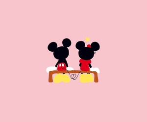 disney and mickey and minnie image
