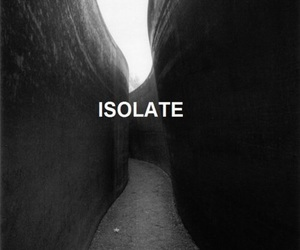 isolate, black and white, and black image