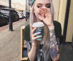 girl, tattoo, and tumblr image
