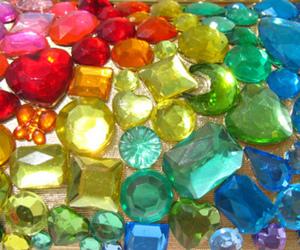 rainbow and jewels image