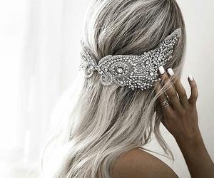 fashion, hair, and tiara image