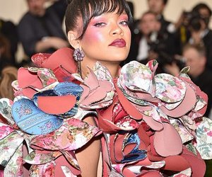 rihanna, met gala, and fashion image
