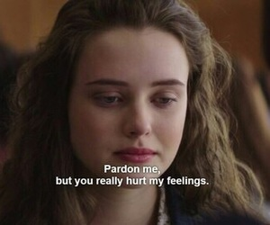 13 reasons why, hannah baker, and sad image