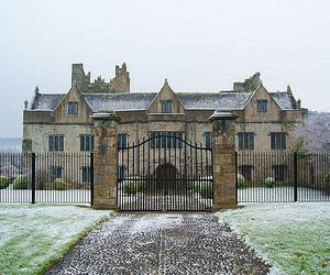 ireland, manor house, and winter image