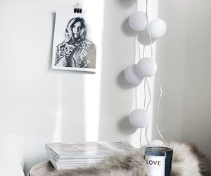 black and white, cosy, and home image