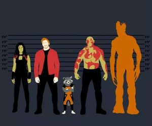 guardians of the galaxy and Marvel image