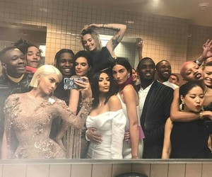 kylie jenner, kendall jenner, and met gala image