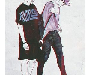 fanart, jin, and korea image