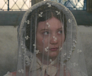 jane eyre, Mia Wasikowska, and wedding image