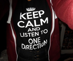 one direction and keep calm image