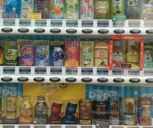 asia, drinks, and machine image