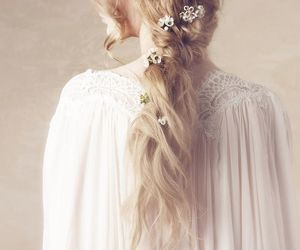 beautiful, long hairstyle, and beautiful hairstyle image