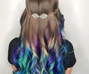 beauty, hairstyle, and mixed image