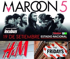 free, incubus, and maroon5 image