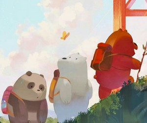 bear and cartoon image