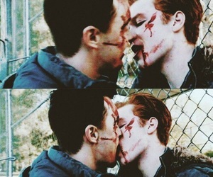 shameless, gallavich, and mickey milkovich image