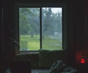 introvert, cozy, and rain image