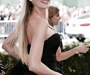 met gala and candice swanepoel image