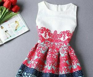 dress, girls, and fashion image