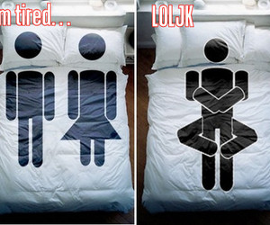 bedsheets, sex, and i'm tired image