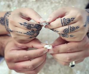 couples, hand, and زفاف image