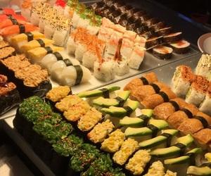 colorful, sushi, and @faneturne image