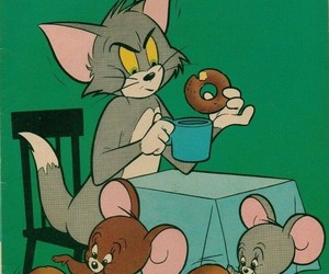 character, anime, and tom&jerry image