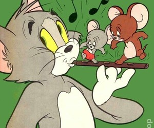 anime, tom&jerry, and き image