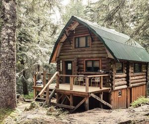 cabin, homes, and Houses image