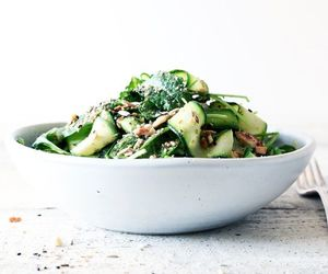 avocado, delicious, and courgette image