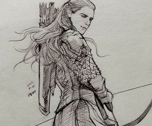 fanart, Legolas, and lord of the rings image
