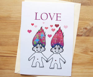 90s, etsy, and greeting cards image
