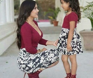 cuteness, summer, and fashion mommy image