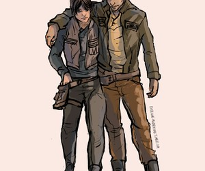star wars, jyn erso, and rouge one image