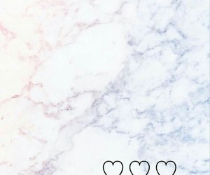 blue, fave, and hearts image