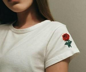 alternative, grunge, and rose image