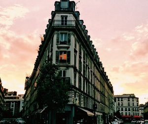 architecture, pink, and france image
