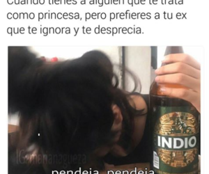 alcohol, desamor, and mujeres image