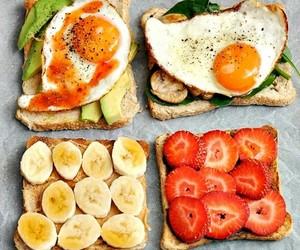 food, healthy, and banana image