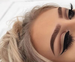 blonde, chic, and eyes image