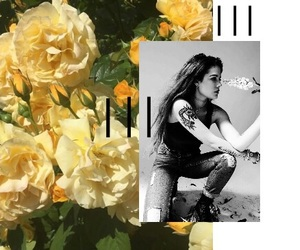 flowers, halsey, and girl image
