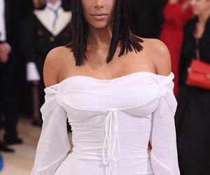 beauty, girl, and kim kardashian image